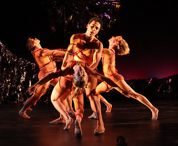 Photo by John McCauley Dance: Le Sacre du Printemps Dancers: Dustin Kimball, Alicia Curtis, Alvaro Palau, Michelle de Fremery