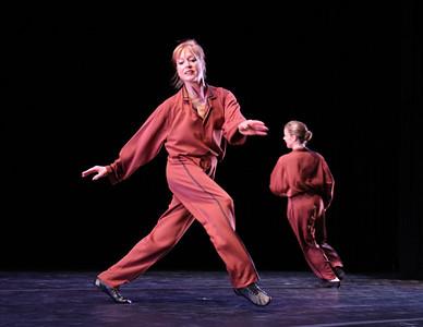 Photo by John McCauley Dance: Beethoven Bits Dancers: Lucy Bowen McCauley (c), Alison Crosby (r)