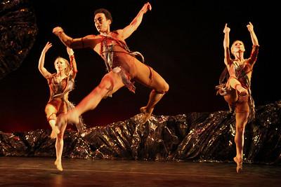 Photo by John McCauley Dance: Le Sacre du Printemps Dancers: Michelle de Fremery, Alvaro Palau, Alicia Curtis
