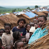 Informal settlement for displaced people in Mwaka village, Tanganyika province