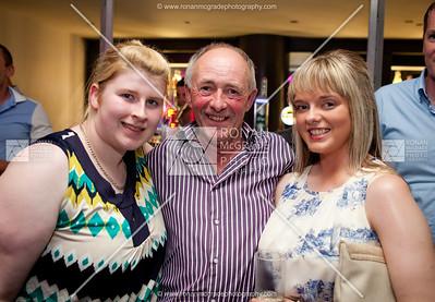Sarah Gallagher with Peter & Corina Ferguson.