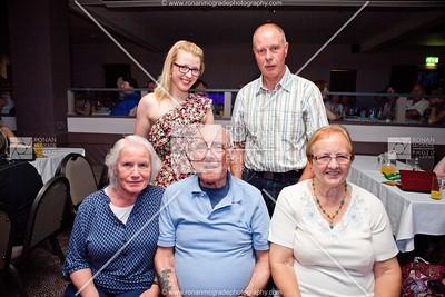 (Back) Arlene & Bertie Kelly with (Front) June Scott, Jack Scott & Florence Heenan.