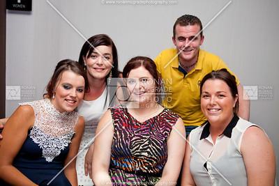 Lisa Cassidy, Nicola Gavigan, Samantha Phair, Brian Gavigan (Birds Nest) & Ciara Branley.