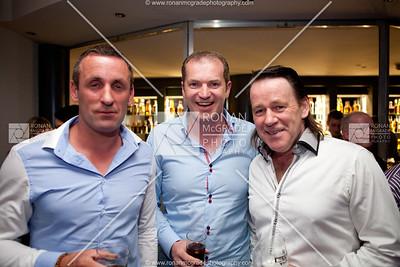 Bobby Simms, Andrew Cox & Damien from the Mallard Bar.