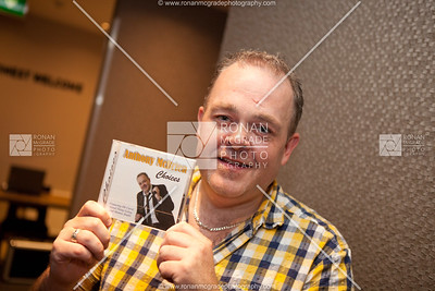 Anthony McBrien with his new album 'Choices'.