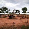 Displaced by violence, hundred of families are living on the PK5 site, Carnot, CAR, where houses have built so they have a place to call home. Credit: Hajer Naili/NRC
