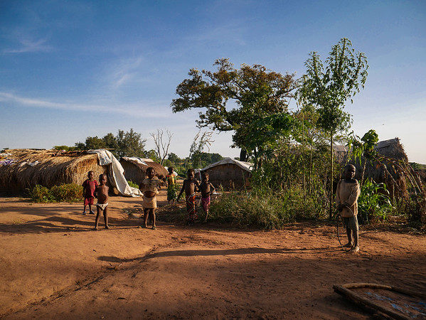 Children at the Lazare camp for internally displaced persons in Baka Bandoro. Currently, 51 percent of those in need of humanitarian assistance in the Central African Republic are children.                                                                                                           <br />                                                                                                                                                                                          <br /> Credit: Hajer Naili/NRC