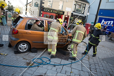 Fermanagh Drugs and Alcohol Forum demonstration.