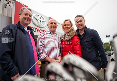 Pat McCaffrey, Dermot Love (who got a hole in one), Sinead & Niall McEnhill (Belmore Dental).