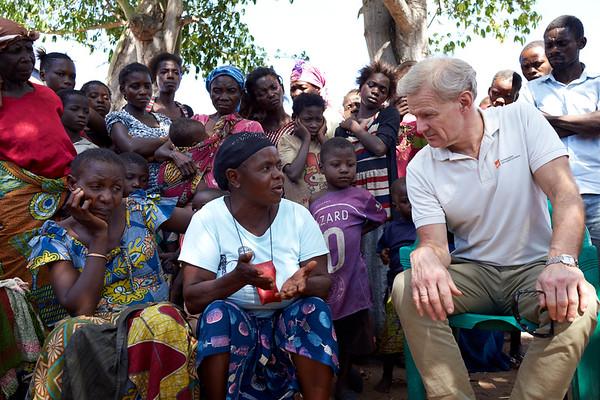 Meeting displaced in Kalemie