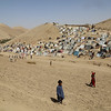 Flimsy makeshift shelters that are ill-equipped to withstand Afghanistan's harsh winters