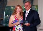Governor Mike Beebe accepts the 2011 Best of the Web award for the State of Arkansas
