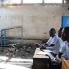 Bombed class room