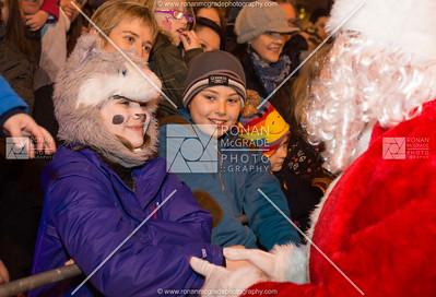Enniskillen Christmas Lights switch on