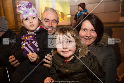 Enniskillen Christmas Lights switch on