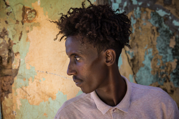 Younas, an Ethiopian refugee sheltering in Sudan