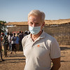 Jan Egeland in Um Rakuba kamp