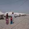Family fleeing Mosul arrives in new camp