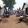 Ben Zvi IDP camp, Bangui city