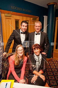 Alison Irvine and Rosaleen Treacy with Paddy Flanagan and Barry McCauley