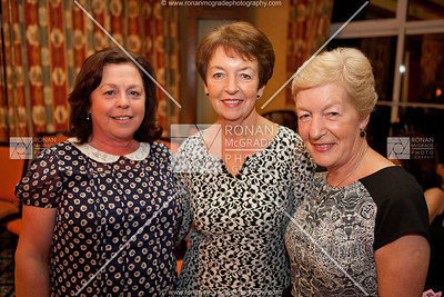 Rhona Brown, Vera Hamilton and Anne Bowles enjoyed the fashion on display.