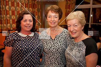 Rhona Brown, Vera Hamilton and Anne Bowles enjoyed the fashion on display.