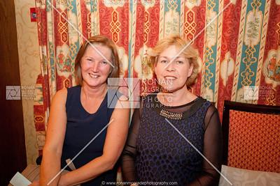 Linda Moore and Maeve Ferguson