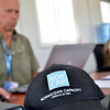 Hans Christen Knævelsrud working on camp management for UNHCR in Zaatari Camp in Jordan (Photo: NRC/Christian Jepsen)
