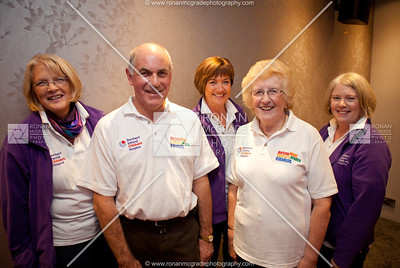 Elaine Wilson, Austin Stronge, Gladys O'Callaghan (Chairperson), Joy Graham & Mae Crawford