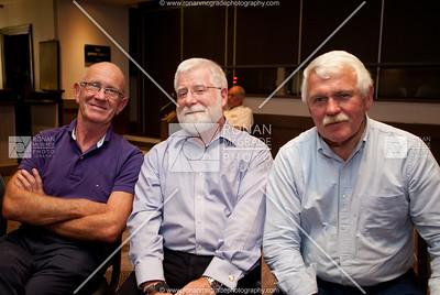 Ken Lowry, Ivan Topping & Stewart Henry enjoyed the choir.