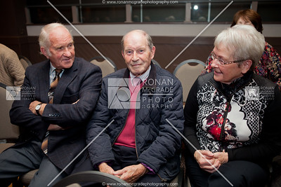 Victor Graham, Ronnie Kemp and Georgina Kenny.