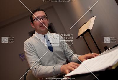 Darren Baird accompanied the choir on keyboard.