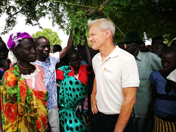 Jan in South Sudan