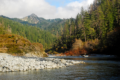 Looking upstream from Klondike Creek
