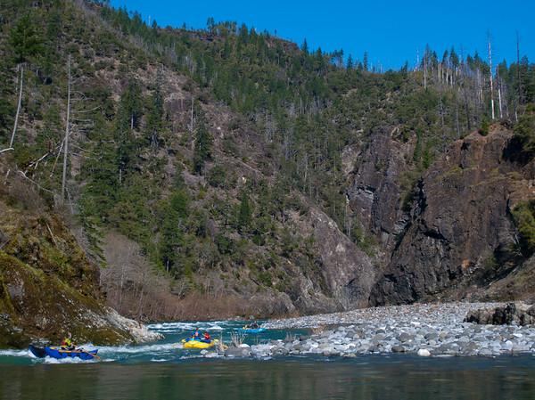 Lower gorge