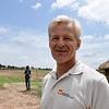 Jan Egeland in Mayom, Unity state, South Sudan