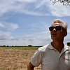 Jan Egeland waiting for the WFP plane in Mayom, Unity, South Sudan