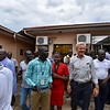 Jan Egeland visiting NRC Juba.