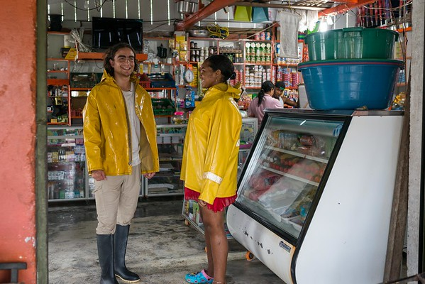 "Marlon Langeland and Jhoana are doing grocery shopping.<br /> <br /> Jhoana, 20 years old, and her family had to flee after an armed attack in her village. Two of her brothers and her two cousins where killed. All male youth.<br /> <br /> Jhoana grew up in a small village along the river in the region of Chocó, Colombia. She loved playing with her siblings and cousins, walking in the bush and went swimming. Her dream was to study veterinarian because her passion for animals. Her dream got tossed when the community repetitively was threatened and they eventually had to flee.<br /> <br /> Armed attack<br /> It was an ordinary day in March 2017 when Jhoana and other women were celebrating women's day. The remaining village, mostly males, continued their normal activities when all of a sudden an armed group attacked. That night Jhoana couldn't sleep due to nightmares and not knowing the extent of the attack and not being able to go back to the village before the next day.<br /> <br /> The next day they witnessed several dead and wounded youths and she was devastated. Not one, but two of her elderly brothers had lost their lives. One where tied up and the other one was laying dead on a rooftop with rain poring down on the body. Furthermore, two cousins and a family friend, all young, and all males also lost their life's. <br /> <br /> Today, the village is abandon and appears more like a ghost town. Jhoana and her family are now too afraid to return to their village because of the uncertainty that follows and if another armed attack will happen again.<br /> <br /> Life today<br /> Now, her daily activities are restricted to short trips; when she leaves the house, she does not go far and she coordinates her trips with relatives. A common daily activity can consist of meeting her cousins at the pier and watch them swim. Or, she will only hang out in their house. At home, where she spends most of her time, she writes her diary to cope with the armed attack and the loss of her two older brothers. She also does her homework in secondary school, or, she helps her mom with cooking and takes care of her 12-year-old niece, Yurani, that lost her dad in the armed attack. She now feels that she has to support her family because her parents are old and the two oldest brothers are gone. <br /> <br /> She continuously strives to stay positive and cope with the armed attack. ""With the heart broken I have to be brave. Forget bad things and bring positive things. Even with this pain, I want to get ahead. I have to fight for positive things to happen"".<br /> <br /> Hopes for the future<br /> The only way she can fulfil her dream and help her family is to leave the village and continue studying, but there is no money to study for. ""I now have a 12-year old niece and I would like to be a good example for her. My nieces father was killed in the armed attack and her mother died due to illness prior. Thus, if I go on to study and build my life I will then get a good job and she will hopefully acquire strength to achieve the same"". <br /> <br /> Jhoana is hoping for peace in Colombia, but she is not sure if that will happen. She has realized that there is no future in the village she is displaced and the road is unfortunately short for youth to armed groups and drugs. Thus, she believes the path lies in education and underline the importance to reach a common agreement in peace in order to progress the country. <br /> <br /> Message to youth<br /> ""If you want something you can achieve it, therefore you should proceed it"". ""Even if someone hurts you, you have to be strong and get ahead"". She continues, ""while you are alive you have to be brave, even if you smile outside and cry inside we should proceed with our dreams"". <br /> <br /> ""Don't believe in negative things, don't fall into bad vicious, be ambitious in a positive matter, and fight for the future and don't be defeated"".<br /> <br /> Photo: Beate Simarud/NRC<br /> <br /> NRC in Colombia<br /> <br /> -	NRC has been present in Colombia since 1991.<br /> -	NRC currently counts on 19 field offices in order to provide assistance to internally displaced and Colombians seeking international protection in the neighbouring countries. <br /> -	About 100.000 people benefited in 2017 from NRC´s programs (information, counselling and legal assistance (ICLA), education, regional refugee program and the roving capacity unit). Budget forecast 2017: 97.6 million NOK<br /> -	Strategic priority for 2018 continues to be to address displacement and emergency related protection gaps and humanitarian need when the state is unable or unwilling to fulfil its obligations. The peace accord will increase the likelihood that durable solutions can be sought with more vigour. NRC will in this context increase efforts to contribute to durable solutions, both in Colombia and in neighbouring countries. <br /> <br /> Key facts<br /> •	Humanitarian and protection challenges continue in Colombia. A six decade-long armed conflict has given Colombia the most prolonged and serious humanitarian crisis in the Americas. In total, more than 7.4 million people are forcibly displaced in Colombia by the conflict.<br /> •	Since the signing of a peace agreement between FARC-EP and the government in November 2016, about 200,000 people have been displaced (nov 2016 – august 2018) – the equivalent of one person every 5 minutes. Rights defenders, indigenous and Afro- Colombian leaders, and other community activists face threats, killings and violence. Perpetrators are rarely held accountable.  <br /> •	There are more than 191,622 Colombians refugees and in need of international protection in neighbouring Ecuador, Panamá and Venezuela, according to UNCHR.<br /> •	Forced displacement increased in 2018. During the first semester group displacement increased 112 % in comparison with the previous year (2017). <br /> •	During 2018, there was an increase (31 %) in the number of attacks against the civilian population, compared with 2017. Threats continue to be the primary mean of attack against the civilian population, although there was a growth in the number of homicides and intentional injuries targeting persons who were under state protection schemes.<br /> •	9 in 10 people displaced by Colombia's civil war have not yet received compensation promised for crimes committed against them. Over 8,7 million Colombians are registered with the Government's National Unit for Victims. However, only one out three applications for compensation by the 2011 Victim's Law in Colombia has been approved. Despite GOC efforts allocating important resources ensure the implementation of the law, the efforts needs to be increased. <br /> •	During 2018, 77 % of the people recorded in massive displacement events belongs to farmers, 11 % indigenous and 11 % afro Colombian communities.  <br /> •	The peace agreement between FARC-EP and the Colombian government is a positive development, but the dynamics of armed conflict and other forms of violence are in flux. Other irregular armed groups have increased their actions in the shadow of the ceasefire, and the clash with these groups is causing the majority of new humanitarian needs.<br /> •	NRC recorded 22 events that affected the continuity of thousands of children attending classes during the first trimester of 2018. 7 IHL serious violations against schools have been reported in the first semester of 2018 and forced recruitment into armed groups  appear to increase this year.<br /> •	Of the total resources requested (156.5 Millions) by the Country Humanitarian Team, only 22 % has been financed (OCHA July 2018)"