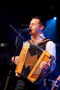 Nathan Carter plays to a packed Delany Suite.