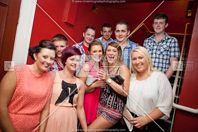 A group of Nathan Carter fans get ready to jive the night away.
