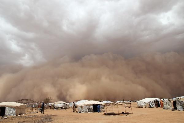 Burkina Faso, sandstorm