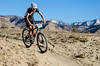Kelsay Lundberg (Salida) drops into singletrack descent. Photo Clark Hodge.