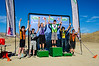 Sophomore Division 2 Overall Series podium Cormac Dunn (Denver Public Schools) 1st; Aaron Selin (Front Range Christian) 2nd; Grant Gipson (Leadville) 3rd; Christian Panozzo (Loveland) 4th; Jonah Howe (Grand Valley) 5th; and Eric Pipkin 6th. Photo Clark Hodge.