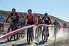 Varsity girls off the start line. Photo Clark Hodge.