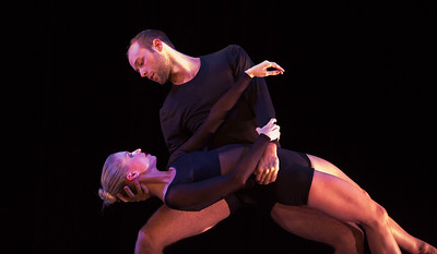 Dancers: Alicia Curtis and Samuel Horning Photo by Jeff Malet