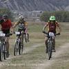 Josh Jacobsen (262) Gunnsion, Ingacio Lobato-Roberts (324) Rocky Ridge and Joel Sawyer (225) Summit roll along the hay fields. Photo Kate Eng.