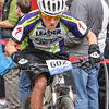 Grant McCormick, Sophomore, Independent from Front Range Christian maintains his overall lead in the series with a 2nd place finish in Leadville. Photo Leslie Farnsworth-Lee.