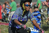Jayden Simelda-Longe, Boulder HIgh Sophomore, enjoys the ride. Photo Paul Magnuson.