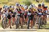 Junior Varsity girls pedal off the start line. Photo credit Leslie Farnsworth-Lee.